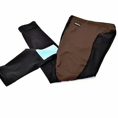 Kerrits CHILDS/KIDS Performance Riding Tights/Breeches - Brown/Black - SALE!