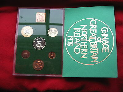 The Coinage Of Great Britain & Northern Ireland 1975 Proof Set 6 Coins Free Post