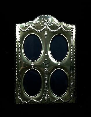 Silver Easel Photo Frame Hallmarked Sheffield 1998 4 Picture
