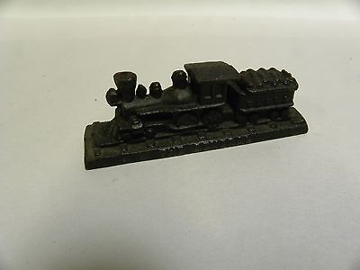 """Vintage Cast Iron """"The General"""" Train Engine Desk Ornament Paper Weight (A5)"""
