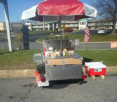 Hot Dog Cart hot/cold water for sale