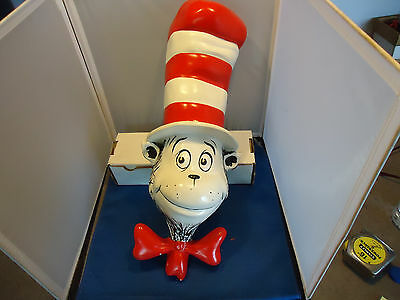 Dr Seuss enterprise Store display Cat in The Hat animation art  book figure