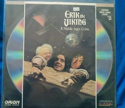 Erik the Viking  -a Pythonesque satire of Viking life. Laserdisc