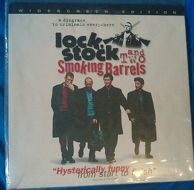 Lock Stock and Two Smoking Barrels Laserdisc a Guy Ritchie Film