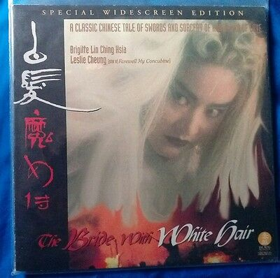 the Bride With White Hair - Special Edition Laserdisc