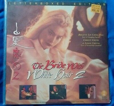 the Bride With White Hair 2 Laserdisc
