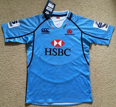 NWT NSW Waratahs Rugby Union Team Jersey Canterbury Mens Size M RRP $160