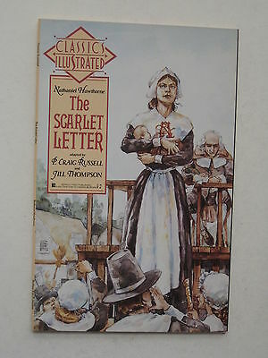 Classic Illustrated THE SCARLET LETTER - P. Craig Russell / Jill Thompson - 1990