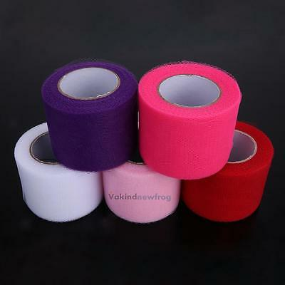 5cm X 25Y Tulle Roll Spool Tutu Wedding Gifts Craft Party Decoration Polyester