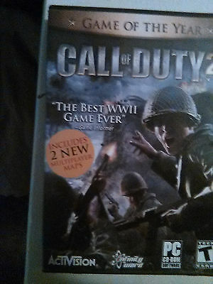 Call of Duty 2 for the PC Very Good Condition