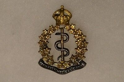 WW1 Canadian CEF CAMC Medical Corps Officers Single Collar Badge 2