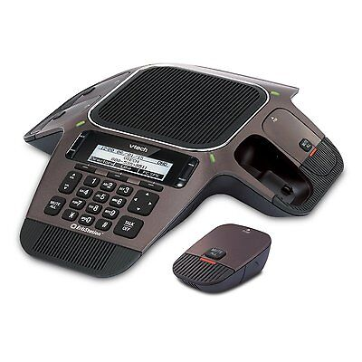 Vtech VCS754 ErisStation Conference Phone / 4 Wireless Microphones VoIP & Device