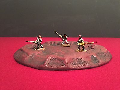 Warhammer, LOTR, Grunts, Scorched earth, red planet, Mars, Sci-fi terrain