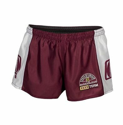 NRL Hero Footy Shorts - Queensland Maroons - State Of Origin - QLD Rugby League