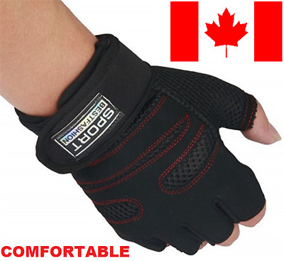 Men Sports Exercise Gym Weightlifting Gloves Training Fitness Best Fashion