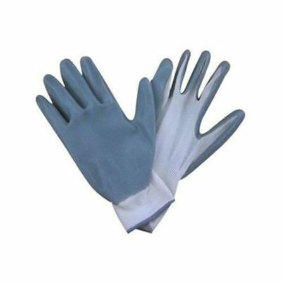Size:11 Nitrile Palm Work Gloves 1 Pairs