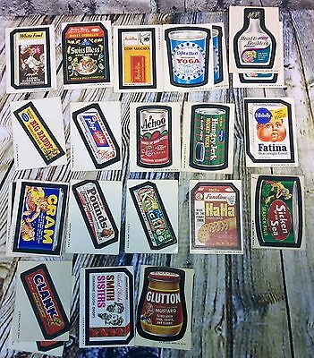 85 Topps Chewing Gum 1970s Wacky Packages Packs Trading Cards Stickers