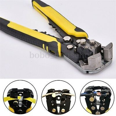 Automatic Wire Cable Stripper Crimper Cutter Plier Electricians Crimping Tool