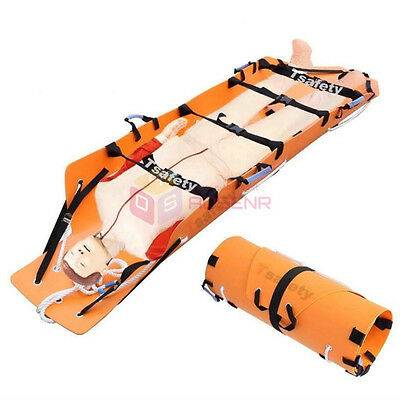 Rescue Stretcher Lift Folding Multifunctional Fire Emergency Well Height Rescue