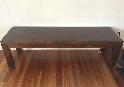 Bench solid Mango wood VGC For Dining table