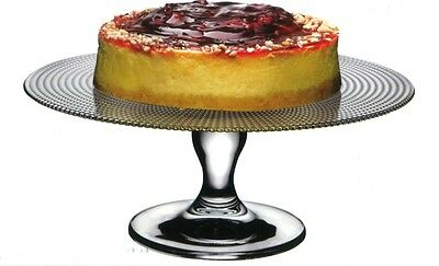 Pasabache Glass Footed cake stand Patisserie 28 cm