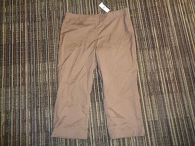 Nwt Womens New York & Company Stretch Dress Work Casual Trousers Slacks Pants 12