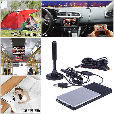 Car TV Mobile Digital TV Tuner Receiver HD Wifi Router Multiple Devices Support