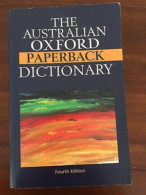 The Australian Concise Oxford Dictionary by Oxford University Press Australia...