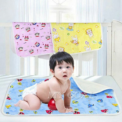 Kids Baby Waterproof Mattress Sheet Protector Bedding Diapering Changing Pads