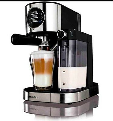 Silvercrest Brand New Espresso With Milk Frother Coffee Machine!!
