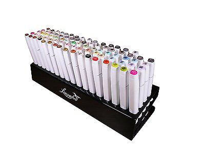 Marker Pen Storage Holder Acrylic Organizer 85 Hole For Touch New Five Animation