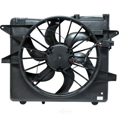 Radiator And Condenser Fan For Ford Fits Mustang FO3115152