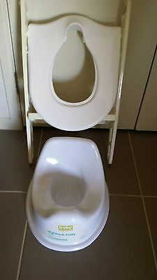 Toilet seat and potty