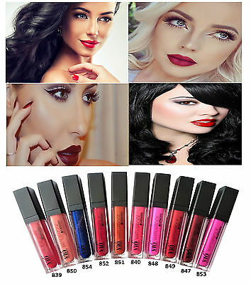 New Waterproof Vio Long Lasting Lip Gloss Makeup Lip Liquid Matte Super Lipstick