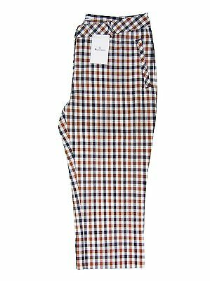 Aquascutum Ladies Golf Capri Pants Icon Check UK 10/US 6