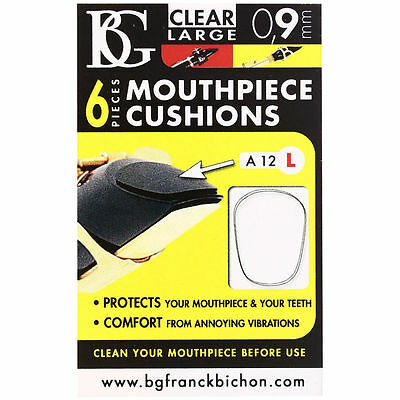 BG Mouthpiece Patches Cushions for Clarinet & Saxophone Large A10L