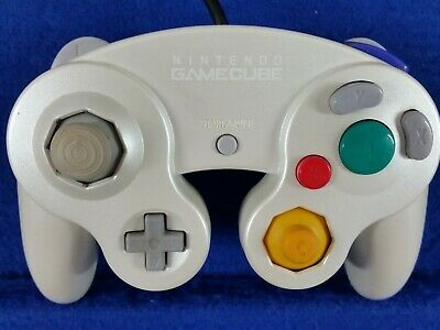 gamecube CONTROLLER Pearl White Colour Official Nintendo GENUINE Wii