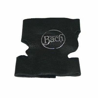 Bach Black Leather Trumpet or Cornet Valve Guard
