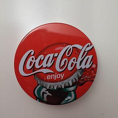 Coca Cola Metal Cork coasters new in box