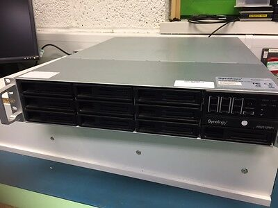 Synology Rack Station RS2212RP+ 10-Bay Rackmount Storage NAS Server No HDD