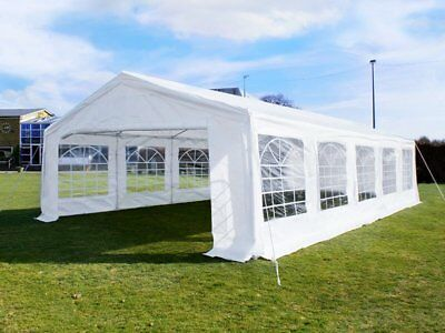 Great White Marquee 5m x 10m Economy Wedding Party Tent Event Gazebo White NEW