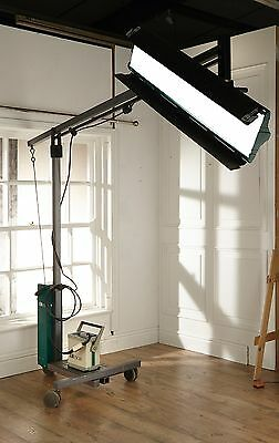 Lighting Boom arm Studio photo stand for Arri Bowens Flash etc. Extra Heavy duty