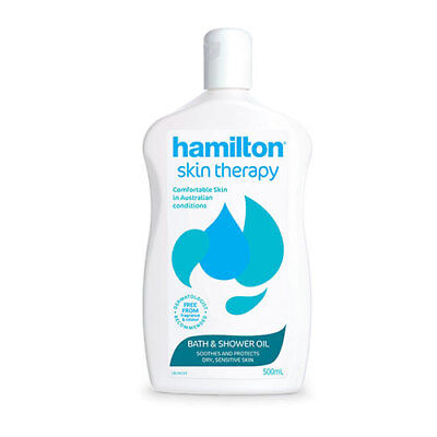 NEW Hamilton Dry Skin Treatment Bath Oil - 500mL