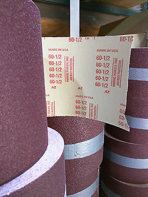 "60 Grit Zirconia Alumina Floor Sanding Roll 8"" x 50 yards"