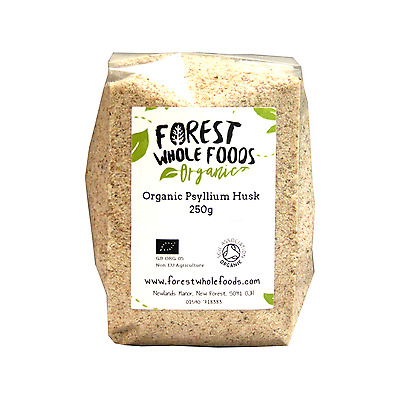Forest Whole Foods - Organic Psyllium Husks (Husk) 250g