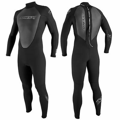 O'Neill Reactor Youth Kids Full 3/2mm Wetsuit, Black
