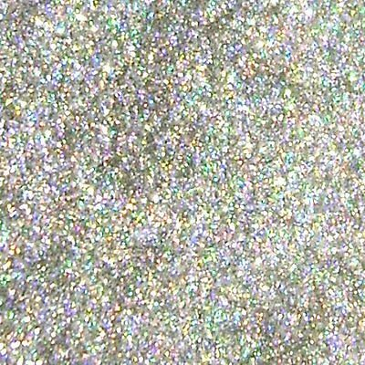 "2 lb / 907g Silver Jewels Holographic .015"" Metal Flake Paint Additive - LF0632"