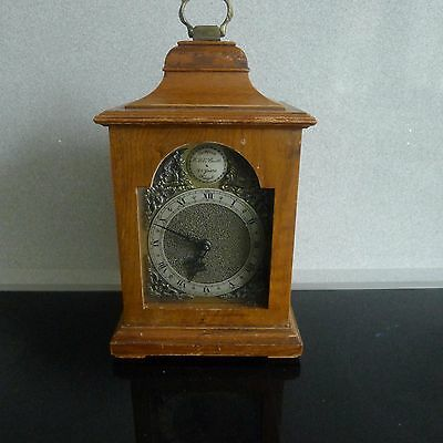 ROTHERHAM SMALL  BRACKET CLOCK  (sold as spares /restore )