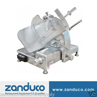 "Omcan Aluminum Slicer with 14""/350mm Blade and 0.5 HP MS-CN-0350"
