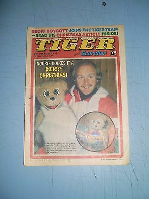 Tiger issue dated December 24 1977 Christmas issue